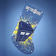 Doctor Who Tardis Christmas Stocking