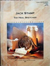 TAR HEEL SKETCHES - Jack Stamp - new Concert Band complete set