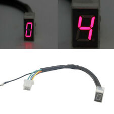 LED Universal Digital Gear Indicator Motorcycle Display Shift Lever Sensor
