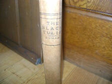 The Black Tulip by A. Dumas - A.L. Burt Company. - crc. 1890s - Cornell Series