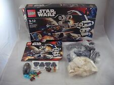 *Partial* Lego Star Wars set 7661 Jedi Starfighter with Hyper drive Booster Ring