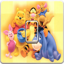 Winnie The Pooh Light Switch Sticker, Decal, Skin, Cover - Kids Bedroom #168