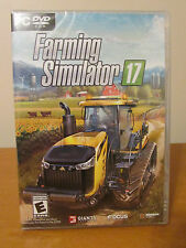 Farming Simulator 17 Video Game for Windows 7/8/10 PC System NEW/Sealed