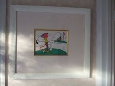 Pink Panther Golfing Framed Picture 1992 Golf Animation Limited Edition Sericel