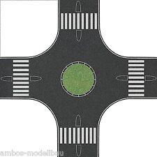 (1m² = 292,58 €) Busch 1102 n glorieta, asfalto, para 40 mm carreteras, 160 x 160mm
