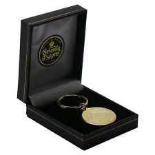 NA 24k Gold Clad Keyring  Narcotics Anonymous  Recovery Gift Free Engraving