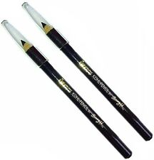 2 x Barry M KOHL Pencil Eyeliner Make Up Cosmetic Eyebrow Black Trendy #12M