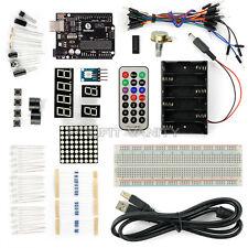 New SainSmart UNO R3 ATMEGA328P Basic Starter Kit For Arduino DIY