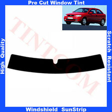 Pre Cut Window Tint Sunstrip for Opel Astra G 3 Doors 1998-2004 Any Shade