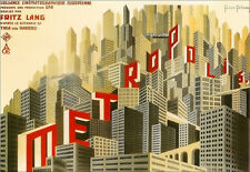 METROPOLIS - Fritz Lang Movie - Film A3 Art Poster Print