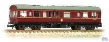 39-779 Bachmann OO Gauge LMS 50 Inspection Coach BR Maroon with Maroon Ends