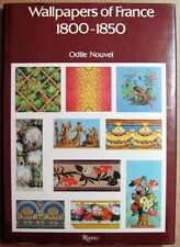 Wallpapers of France 1800-1850 1981 1st Ed. HC Book