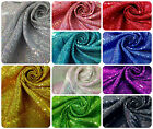 3mm Micro Mini Holographic Sequins on Stretch Polyester Spandex Fabric -52