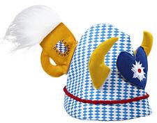 Verrückte Oktoberfest Bayern Mütze NEU - Karneval Fasching Hut Mütze Kopfbedecku