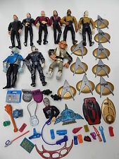 1993 Playmates Star Trek The Next Generation Action Figures Weapons Accessories
