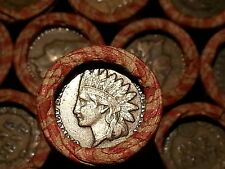 (1) ONE LINCOLN WHEAT CENT PENNY AND??   MIX ROLL INDIAN HEAD END!  1909-1958