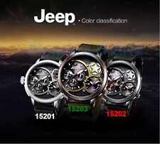 Original Jeep Watch JP15202 Dual time 24 hours/week/calendar Water Resistant 50M