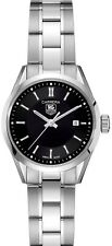 OFFICIAL TAG HEUER LADIES CARRERA WV1414.BA0793 SWISS QUARTZ BLACK STEEL WATCH