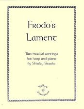 FRODO'S LAMENT, Harp or Piano and Vocal Music, Tolkien