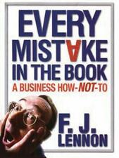 Every Mistake In The Book: A Business How-NOT-To
