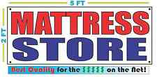 MATTRESS STORE Banner Sign NEW Size Best Quality for The $