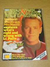 STAR TREK VOYAGER #11 1997 APR VF STARLOG US MAGAZINE ROBERT DUNCAN MCNEIL