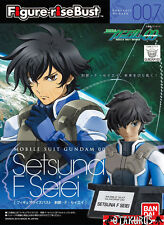 007 Setsuna F Seiei Gundam 00 Figure Rise Bust Model Kit Bandai Japan