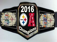Pittsburgh Steelers 2016 AFC North Division Champions Championship Belt