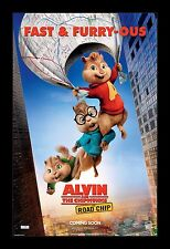 ALVIN AND THE CHIPMUNKS ROAD CHIP framed movie poster 11x17 Quality Wood Frame