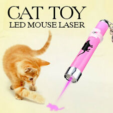 Novelty Funny Cat Play Training Toy Laser Pointer Pen Mouse Animation NEW 1pcs