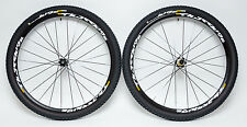 "Mavic CrossRide Tubeless Disc 27.5"" MTB Mountain Bike Wheelset Pulse 2.10 Tires"