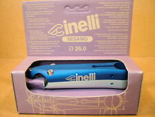 New-Old-Stock Cinelli Sesamo Stem...Blue/Silver Finish w/Silver Decals (130 mm)