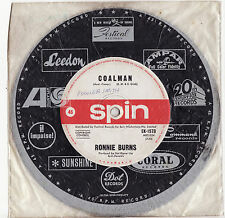"""RONNIE BURNS - COALMAN/ALL THE KINGS  HORSES (2 BEE GEES Numbers) Megarare OZ 7"""""""