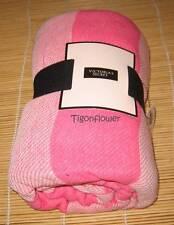 Victoria's Secret Pink Striped Summer Beach Blanket