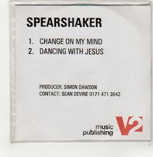 (FQ950) Spearshaker, Change On My Mind - DJ CD