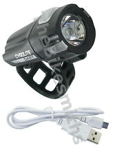 Cygolite Dart 210 Lumens Head Light Bicycle 7 Modes USB Rechargeable