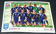 68 EQUIPE FEMININE JAPON JAPAN NIPPON PANINI FOOTBALL FIFA 365 2015