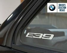 BMW E39 Logo window sticker decal Euro Style
