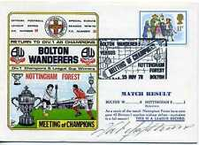 Dawn Football cover 1978 S0808A CERTIFIED SIGNED Nat Lofthouse Fx International