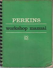 PERKINS 4.108 DIESEL ENGINE FACTORY WORKSHOP MANUAL