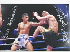 JOHN WAYNE PARR JWP & WANLOP SITPHOLEK Dual Hand Signed 8'x12' Photo 2 + Proof