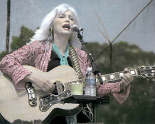 "EMMYLOU HARRIS COUNTRY WESTERN SINGER SONGWRITER 8x10"" HAND COLOR TINTED PHOTO"