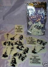 Nightmare Before Christmas Ceiling Star Set Jack Sally Halloween Glow in Dark