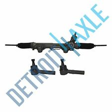 Ford Mazda 2WD Power Steering Rack and Pinion + 2 NEW OUTER TIE RODS