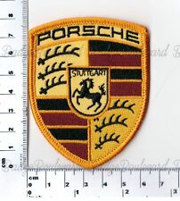 Porsche Embroidered Patch