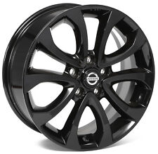 Alloy Wheels 17'' Nissan Juke Black For Nissan Juke 10-16