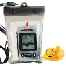 Lucky Digital FFW-718 Wireless Fish Finder Sonar Radio Sea Bed Contour Live U...