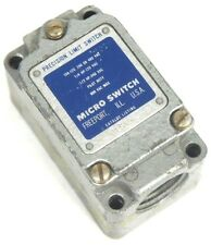 MICRO SWITCH 1LS19 LIMIT SWITCH 10A-120 240 OR 480VAC SWITCH BODY ONLY
