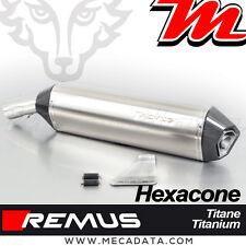 Silencieux Pot échappement Remus Hexacone titane BMW F 800 GS ABS 2012