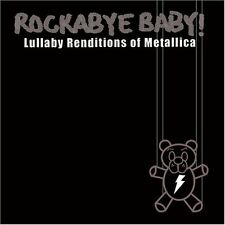 Rockabye baby Metallica lullaby CD alternative goth punk rock metal
